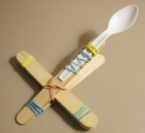 Mini Marshmallow Catapult