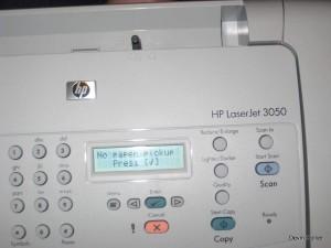 HP LaserJet 3050 – No Paper Pickup Solution | Printerhacks
